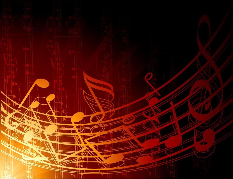 Music Abstract Backgrounds: Mon Univers Arc En Ciel